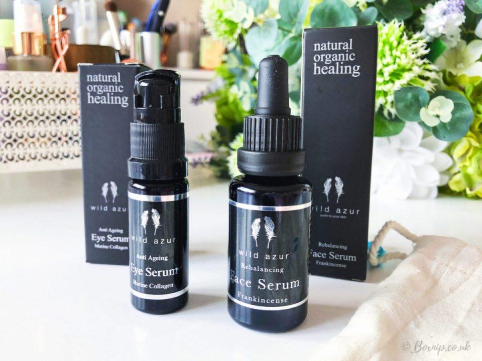 Anti Ageing Eye Serum and Rebalancing Face Serum
