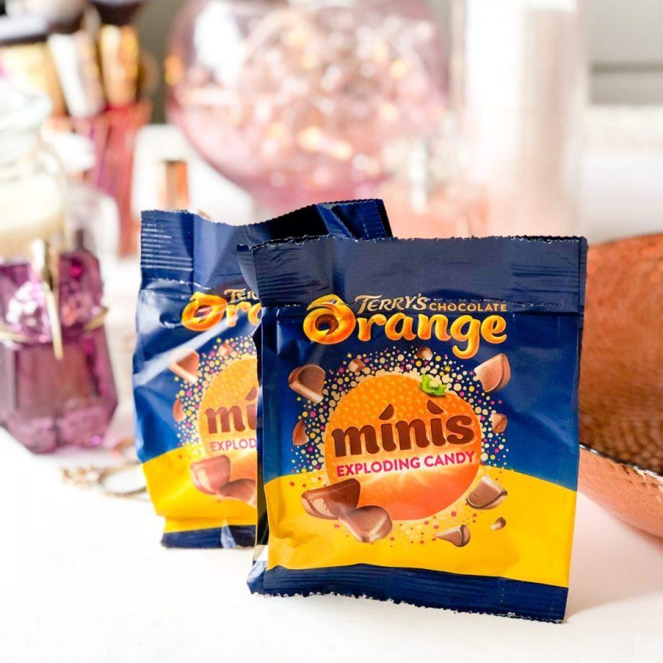 Terry's Chocolate Orange Minis Popping Candy - April 2020 Degusta Box