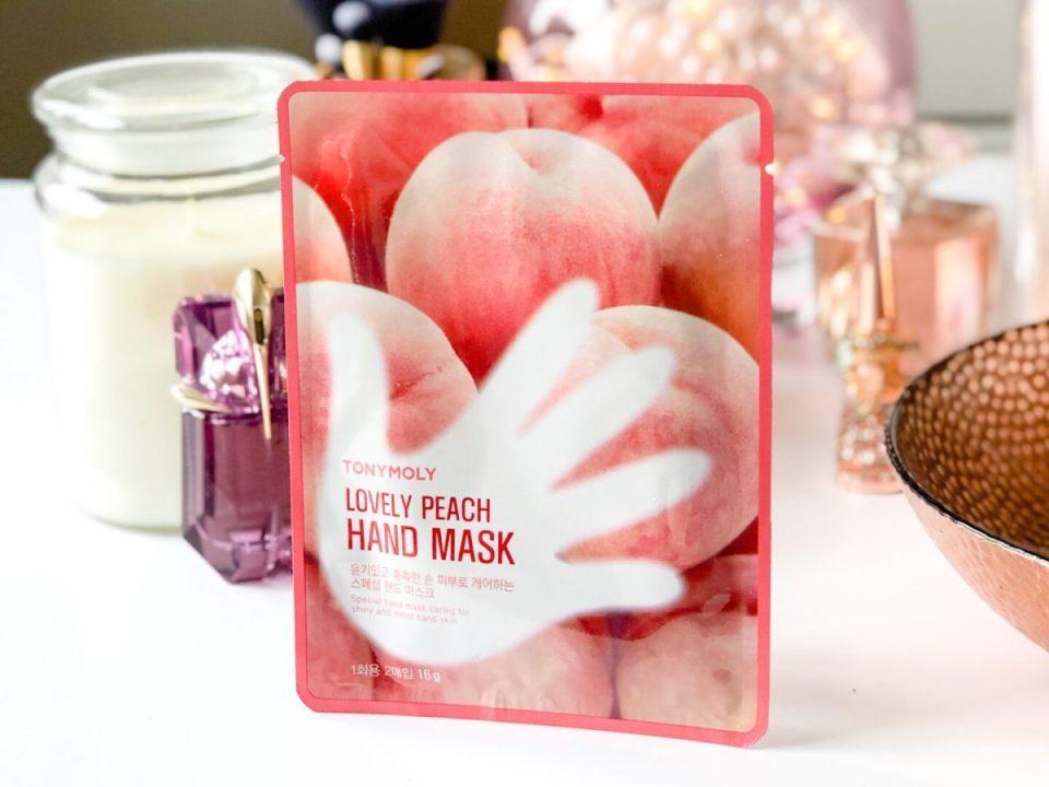 Tony Moly Lovely Peach Hand Mask