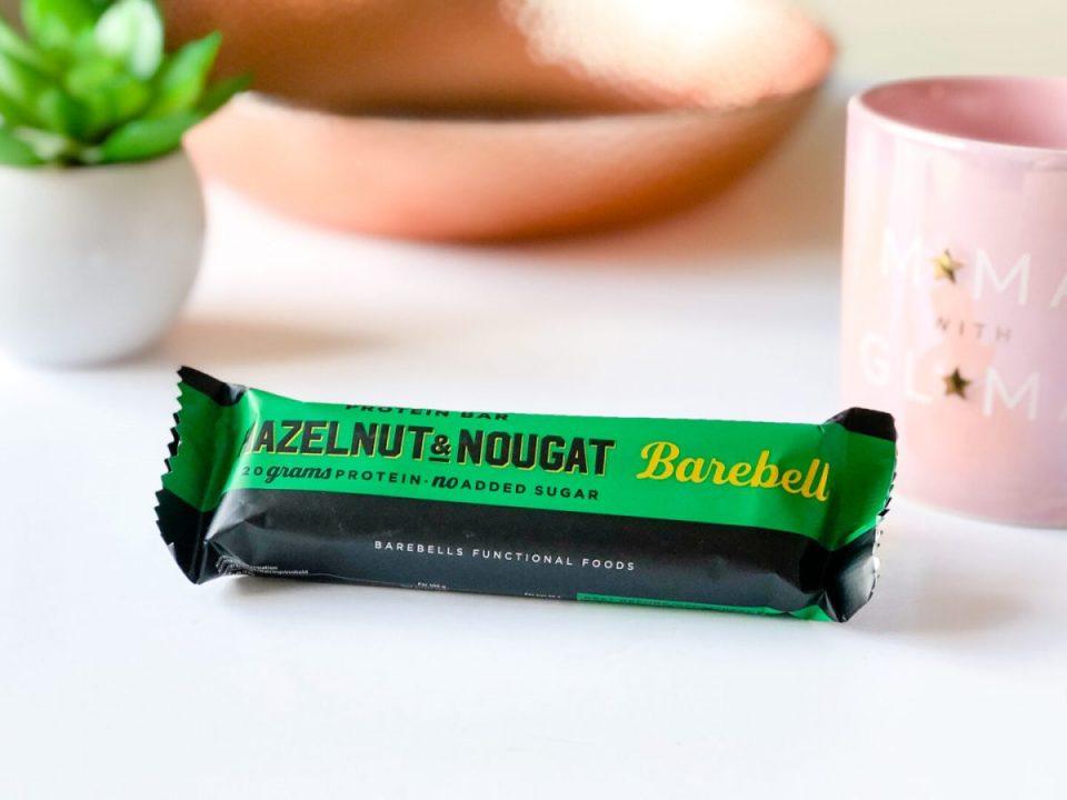 Barebells Hazelnut & Nougat Protein Bar - May 2020 Degusta Box