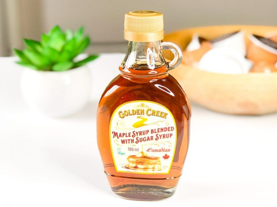 Maple Syrup Blended with Sugar Syrup - Golden Creek - July 2020 Degusta Box
