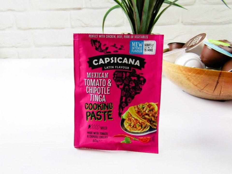 Capsicana Mexican Tomato & Chipotle Tinga Cooking Paste