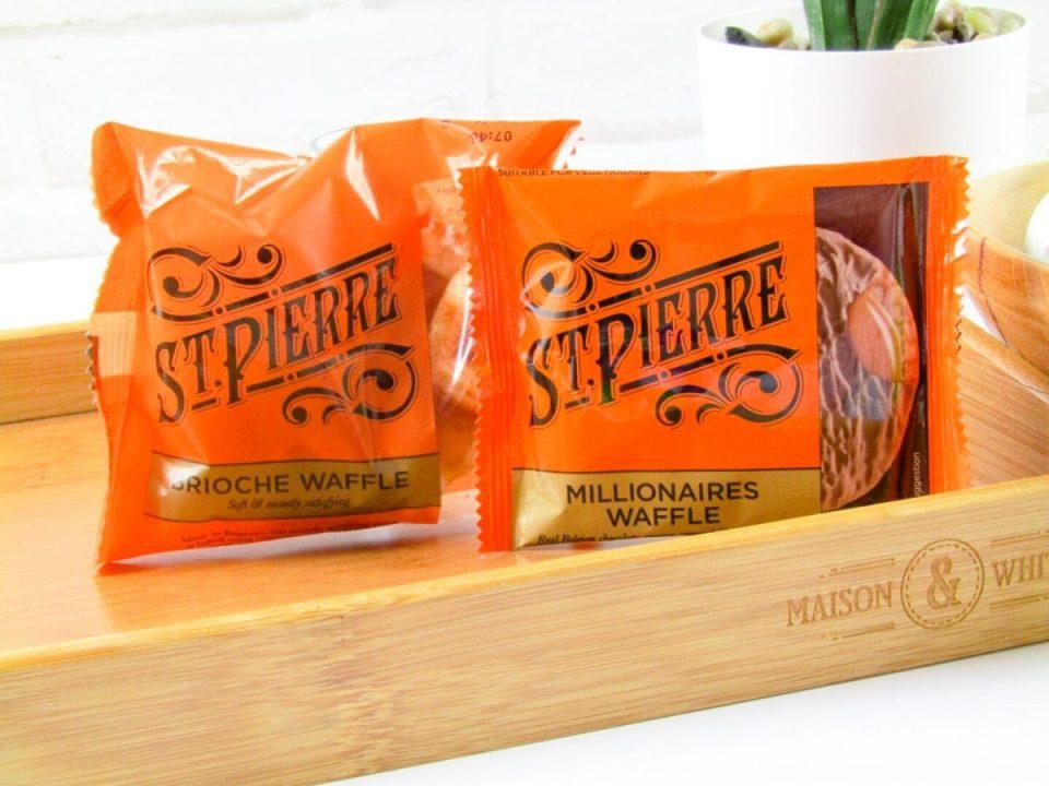 ST Pierre Millionaires Waffle and Brioche Waffle - Degusta Box January 2021