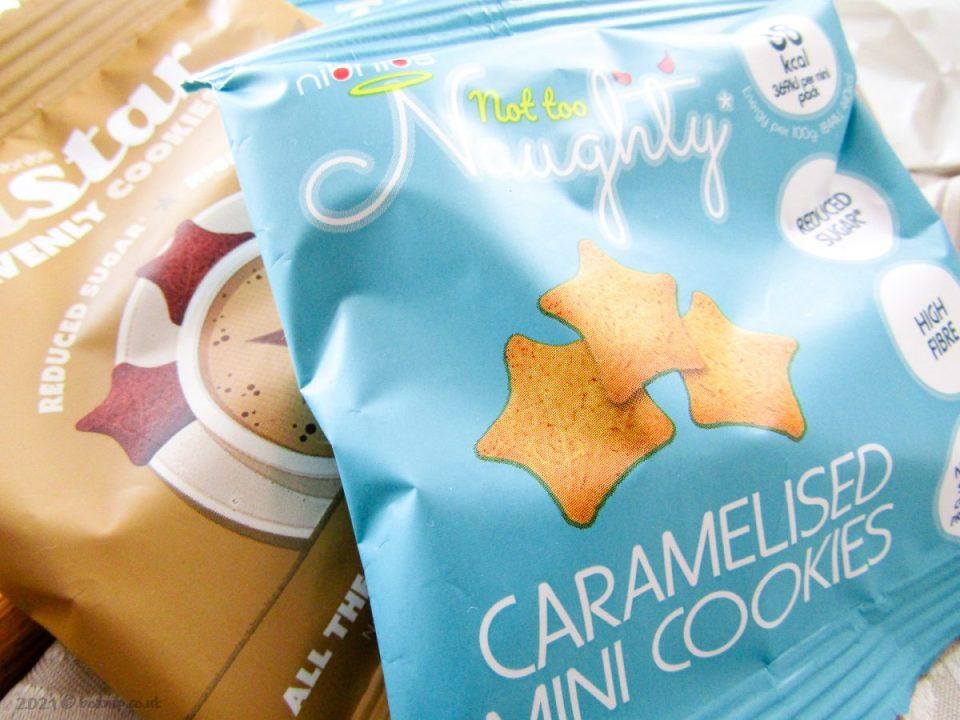 Not Too Naughty Caramelised Mini Cookies - Degusta Box for May 2021