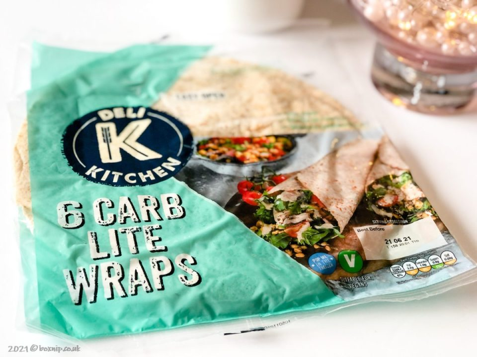 Deli Kitchen Carb Lite Wraps
