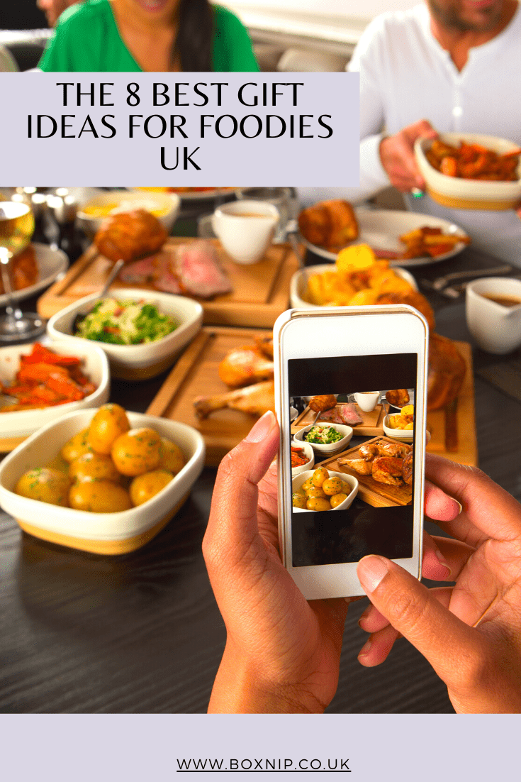 THE 8 BEST GIFT IDEAS FOR FOODIES UK
