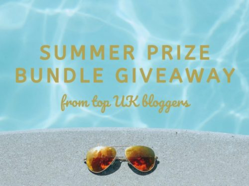 The great summer giveaway prize bundle