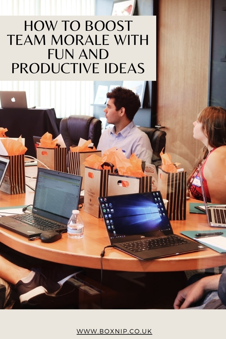 How To Boost Team Morale With Fun And Productive Ideas