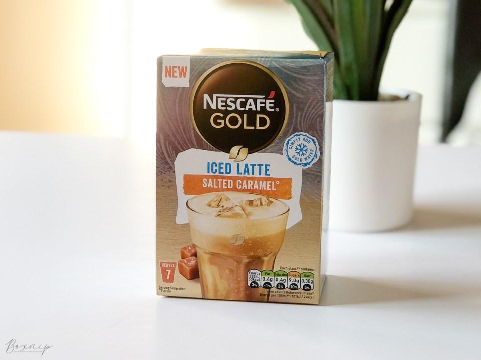 Nescafé Gold Iced Salted Caramel Latte - Degusta Box for August 2021