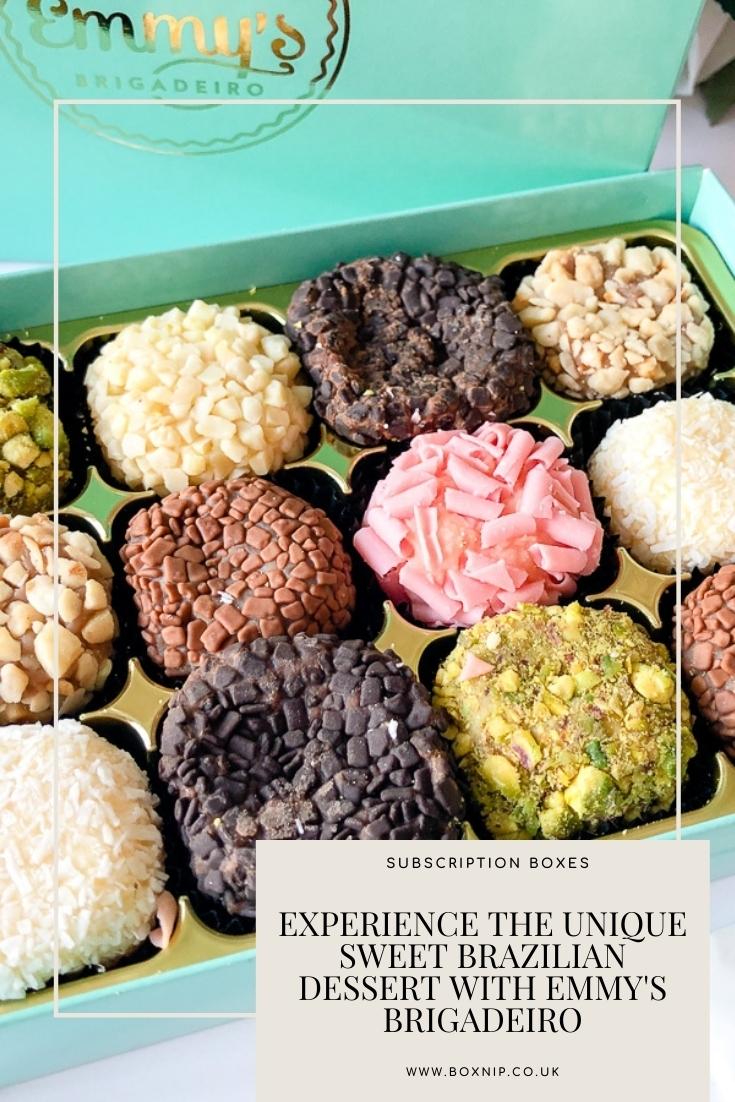 Experience the Unique Sweet Brazilian Dessert With Emmy's Brigadeiro