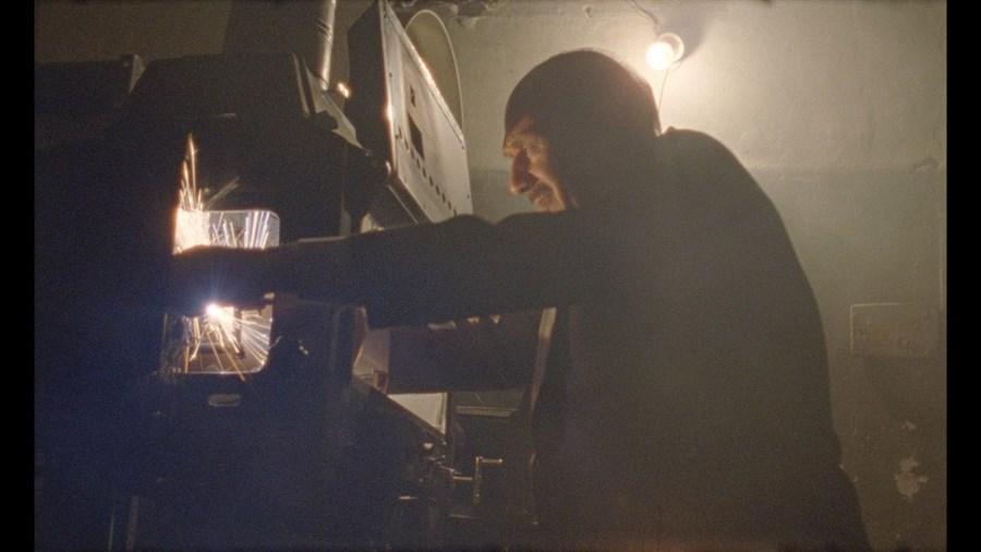 Um projectionista