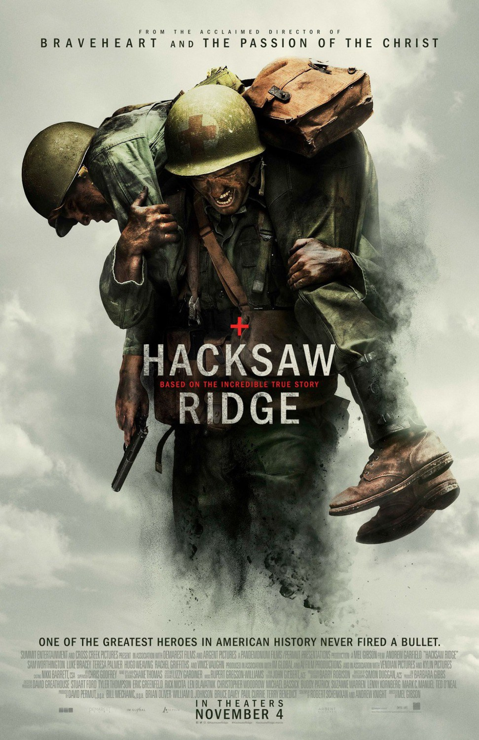 Resultado de imagen para Hacksaw Ridge official movie poster