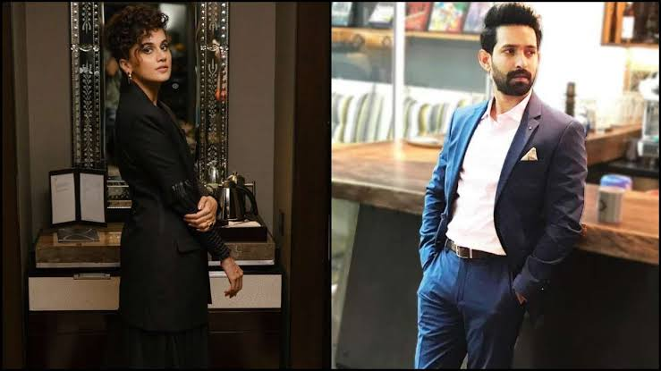 Taapsee Pannu To Romance Vikrant Massey In This Upcoming Mystery Drama?