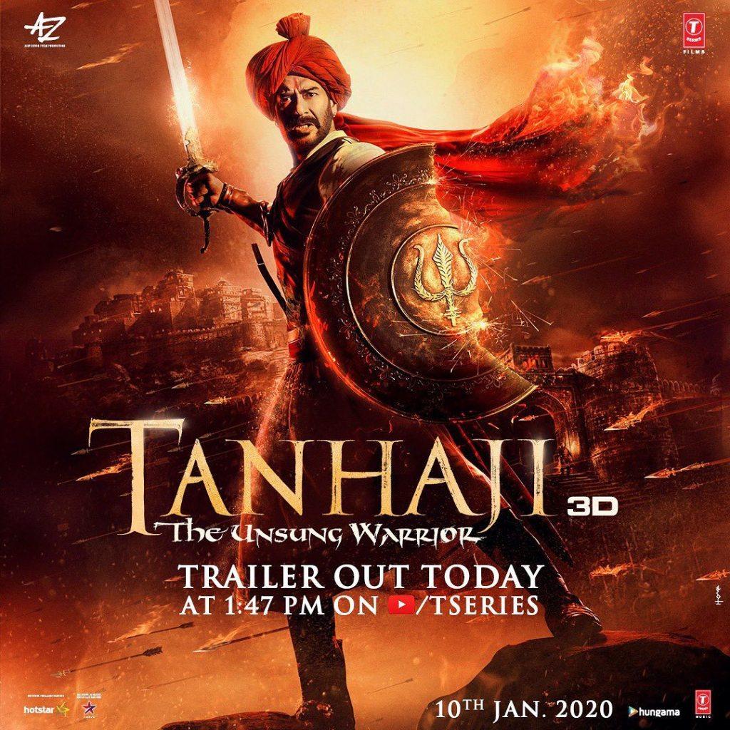 Ajay Devgn's Tanhaji Is In Trouble After Plea Files Again The Film In Delhi High Court