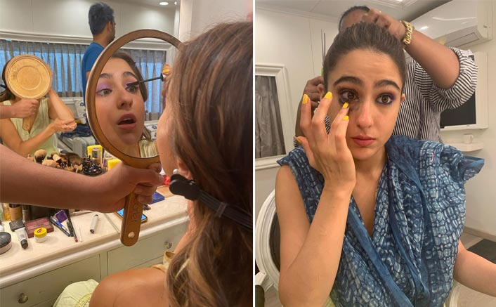 Sara Ali Khan's After Schedule Make-Up Disaster Is Just Too Cute!