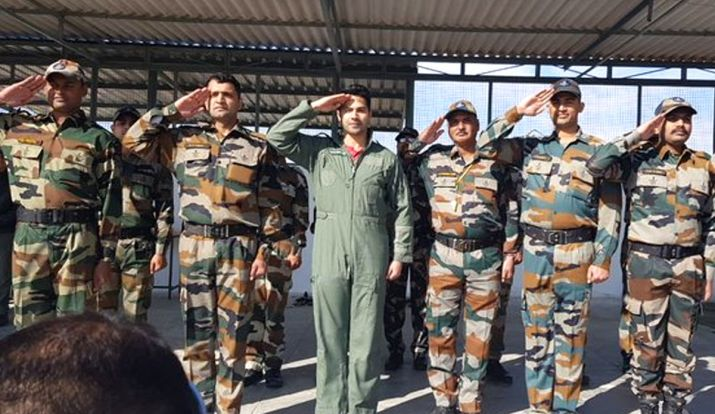 Varun Dhawan Spent Two Days With The Indian Air Force Officials And Calls It Magical Experience