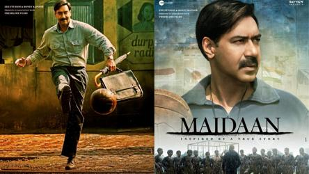 MAIDAAN Posters: Ajay Devgn Unveils The First & Second Look!