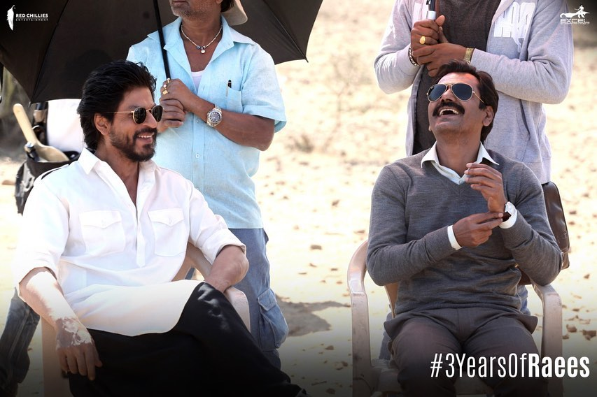 Three Years Of Shah Rukh Khan's Raees, Makers Posted BTS Pictures