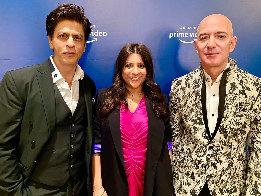 SRK Is Missing Amazon Founder And CEO Jeff Bezos