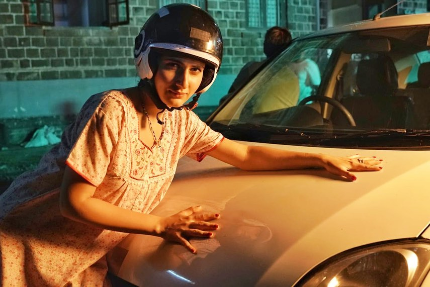 This Quirky Pictures Of Fatima Sana Sheikh From LUDO's Set Will Tickle Your Funny Bone!