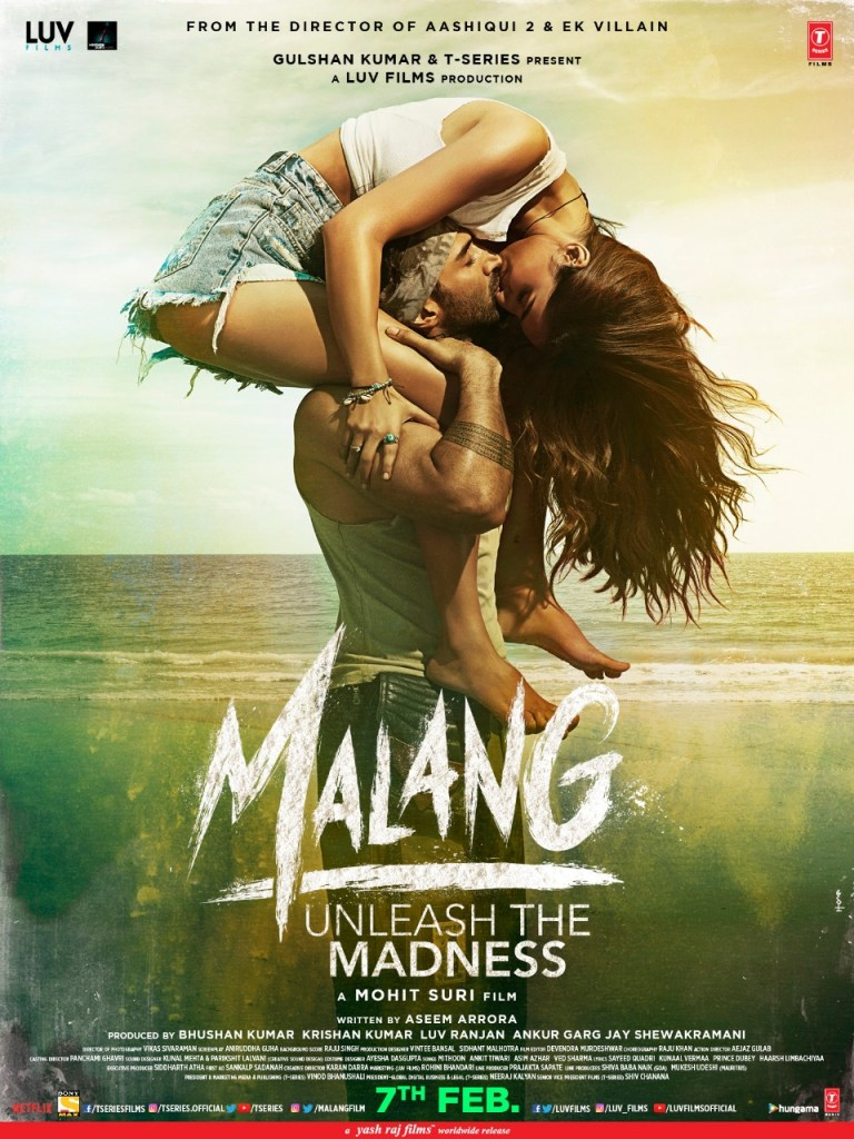The New Poster of MALANG Featuring Disha Patani & Aditya Roy Kapur Is Garnering All The Attention
