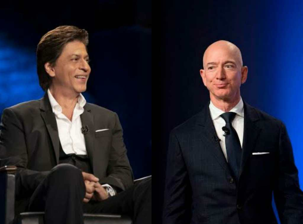 Shah Rukh Khan To Meet With Amazon's CEO Jeff Bazos On His India Visit; Is A Project On The Cards?