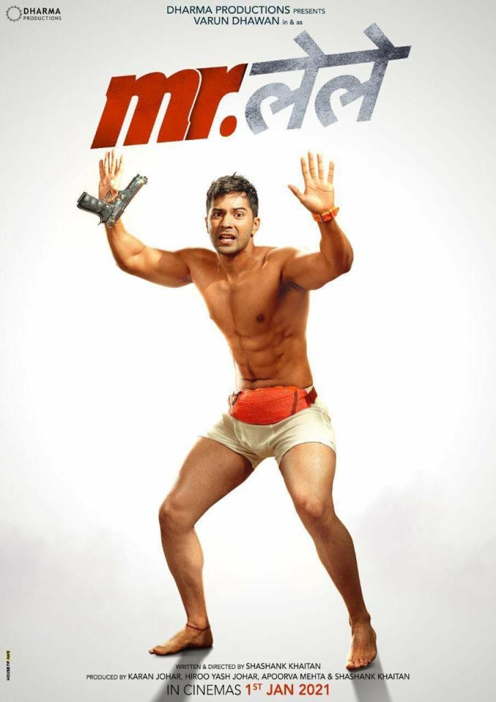 Is Varun Dhawan Attacking Or Surrendering In This First Poster Of Mr. Lele?