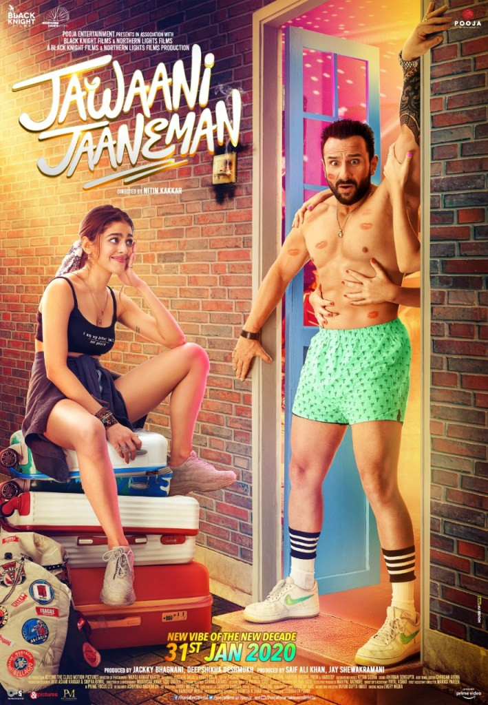 The Quirky New Poster Of JAWAANI JAANEMAN Is Out Now!
