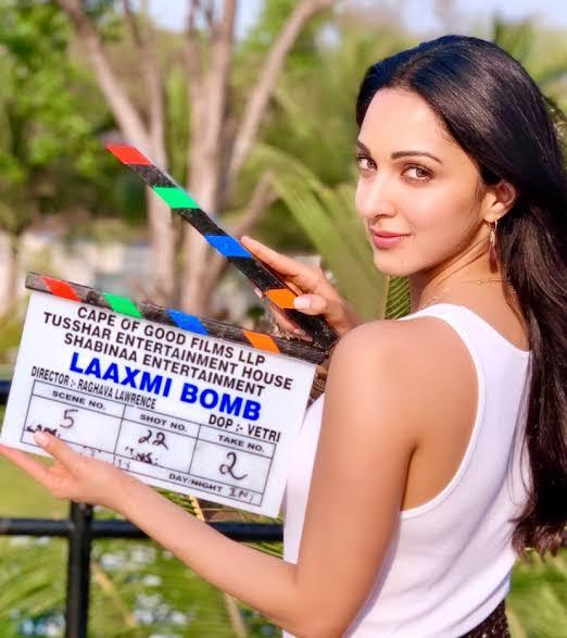Akshay Kumar And Kiara Advani Shoot For The Climax Of  LAXMMI BOMB
