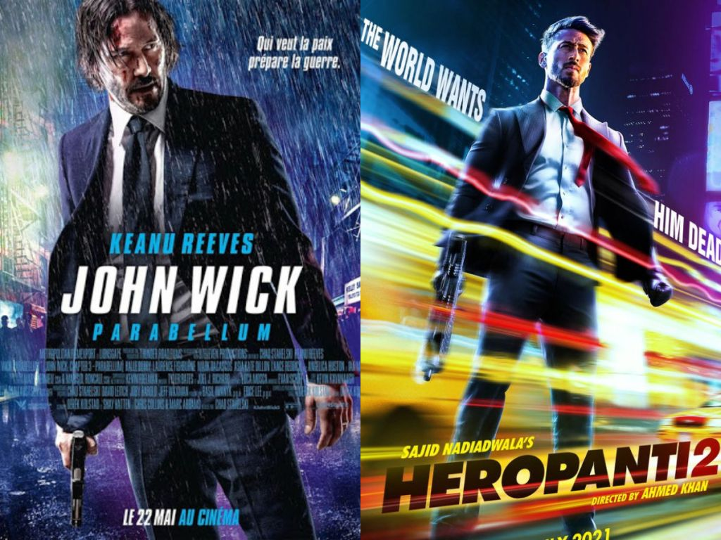 The Poster Of Tiger Shroff Starrer Heropanti 2 Is COPIED From John Wick?