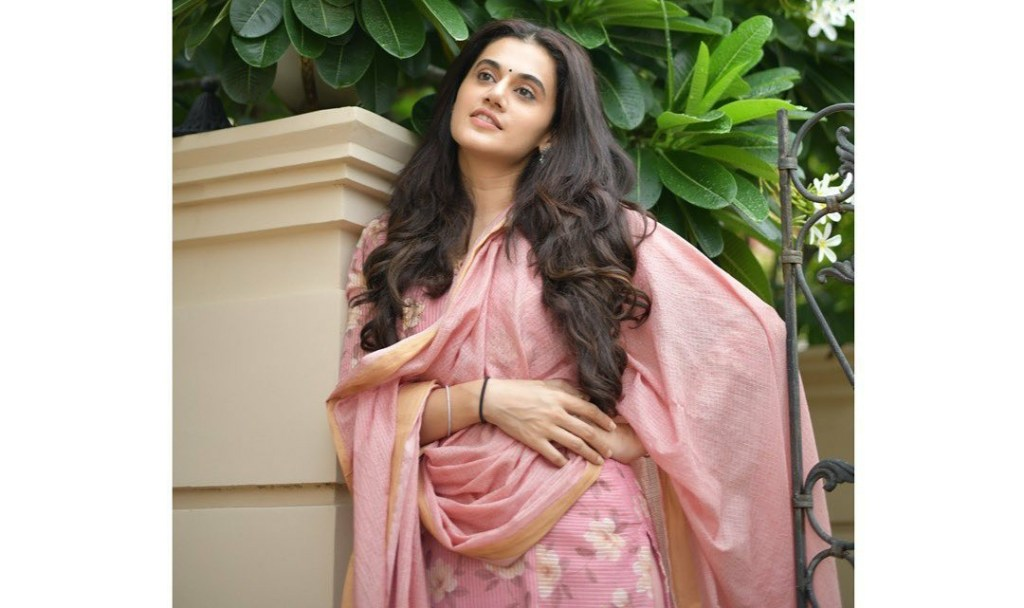 """Talking About Her Mobie THAPPAD, Taapsee Pannu Says, """"My character deals with it in a very patient way"""""""