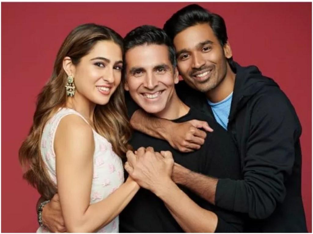 Sara Ali Khan, Dhanush and Akshay Kumar Starts Shooting For ATRANGI RE In Ballia, Uttar Pradesh