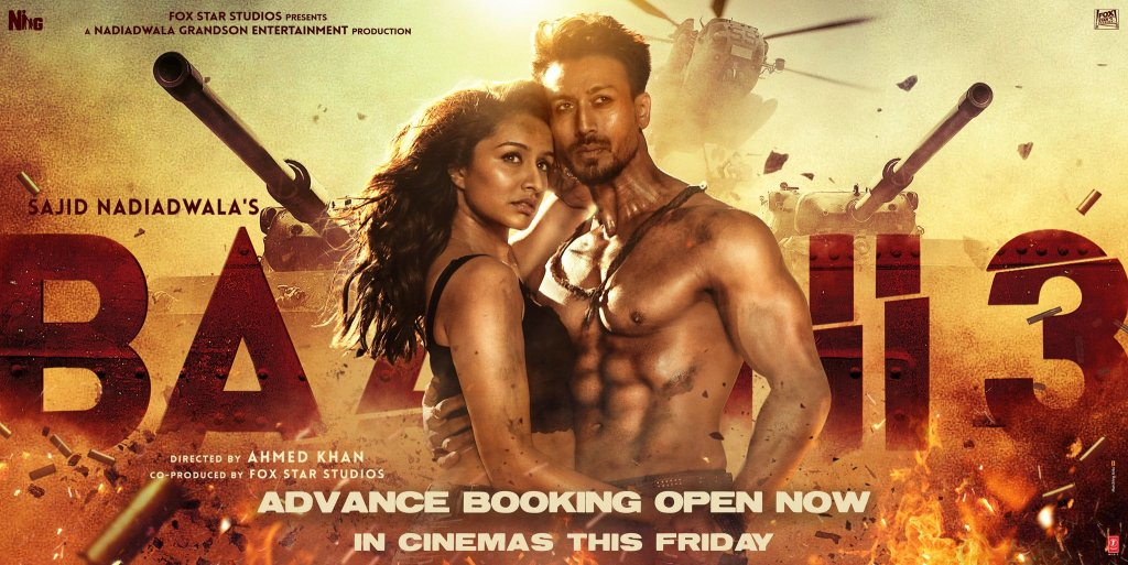 BAAGHI 3: The Advance Booking Of The Film Begins Today