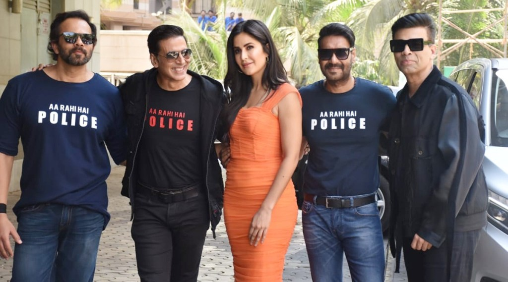 SOORYAVANSHI: Akshay Kumar Couldn't Stop Praising Rohit Shetty For Such An Amazing Film At The Trailer Launch Today!