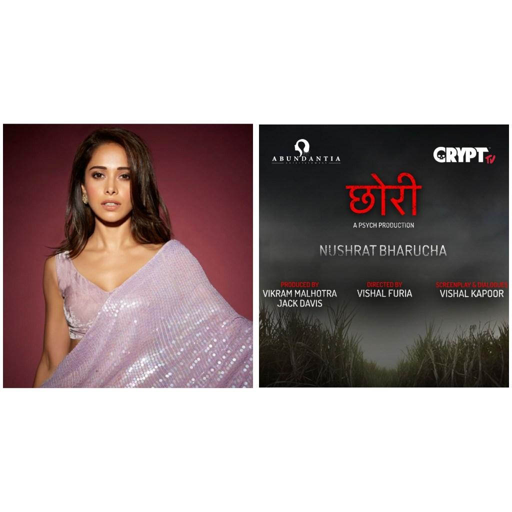 Nushrat Bharucha To Play The Lead In The Hindi Remake Of Hit-Marathi Horror Film, Lapachhapi Titled As Chhori