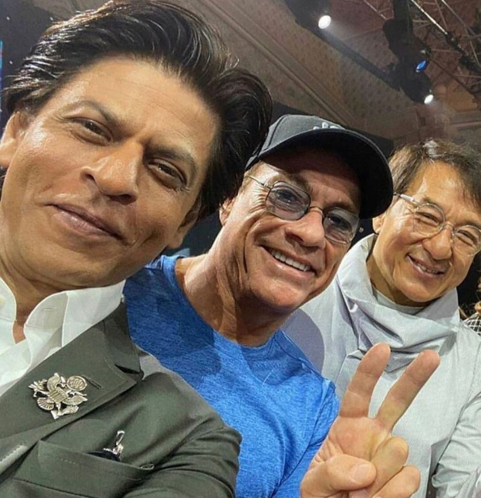 John Cena Shared A Picture With Shah Rukh Khan, Jean-Claude Van Damme & Jackie Chan & Internet Is In Love With It!