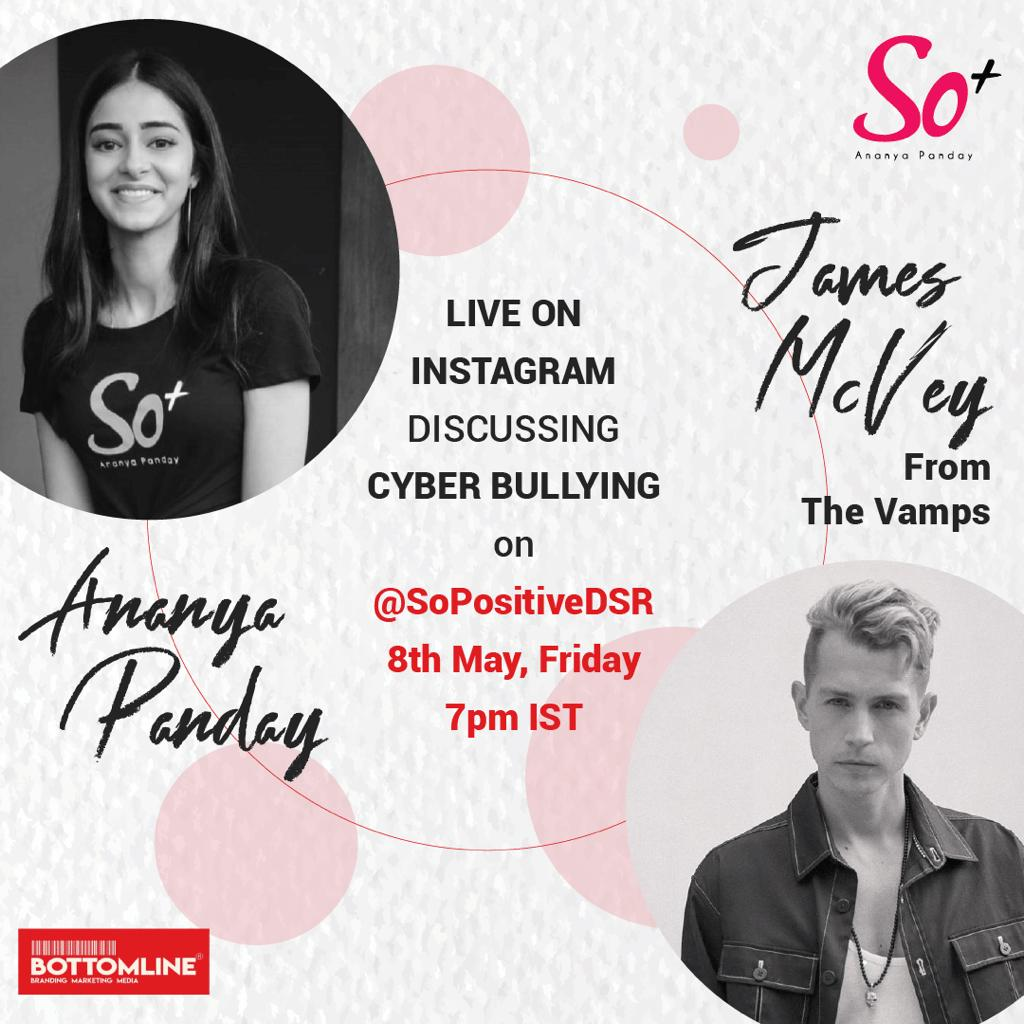 Ananya Panday & 'The Vamps' Guitarist James McVey To Get Vocal On Social Media Bullying