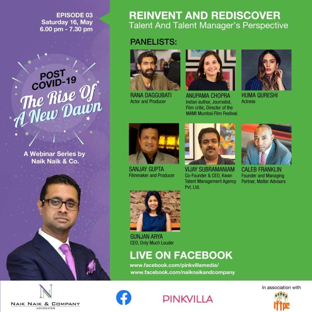 Rana Daggubati, Huma Qureshi, Mukesh Bhatt, Nikhil Advani, Madhur Bhandarkar, Among Others Join An Informative Webseries As Panelists!