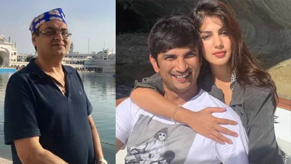 Rumy Jafry Talks About Directing Sushant Singh Rajput In A Rom-com With Rhea Chakraborty