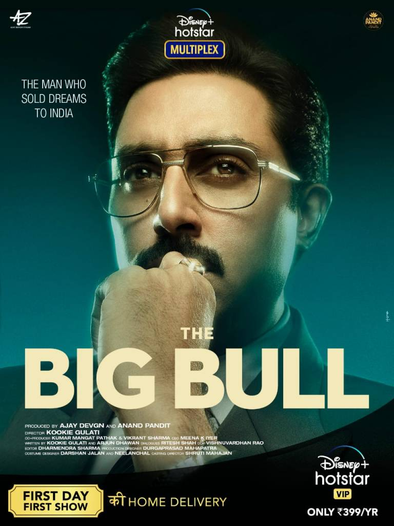 """The Big Bull's OTT Release Is A Experiment Whose Time Has Come"": Veteran Producer Anand Pandit"