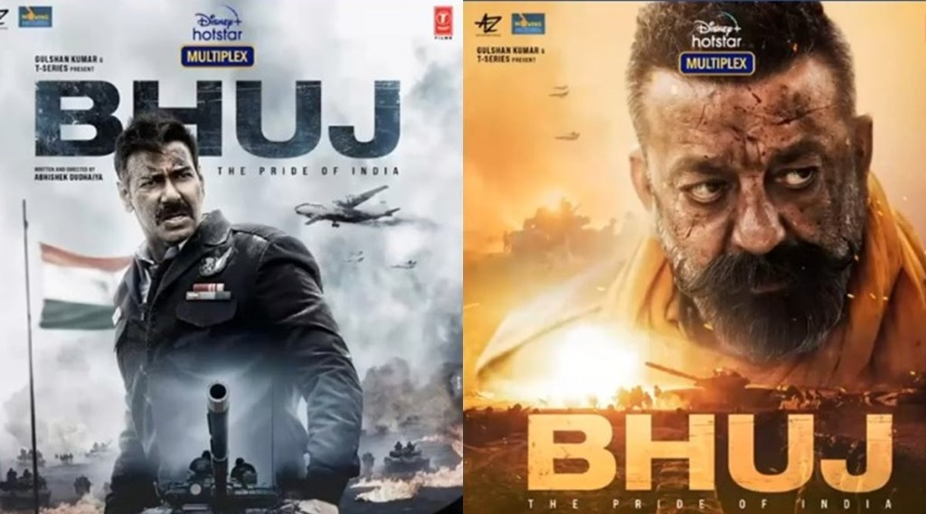 Bhuj: The Pride Of India: New Posters Featuring Ajay Devgn & Sanjay Dutt Are Out!