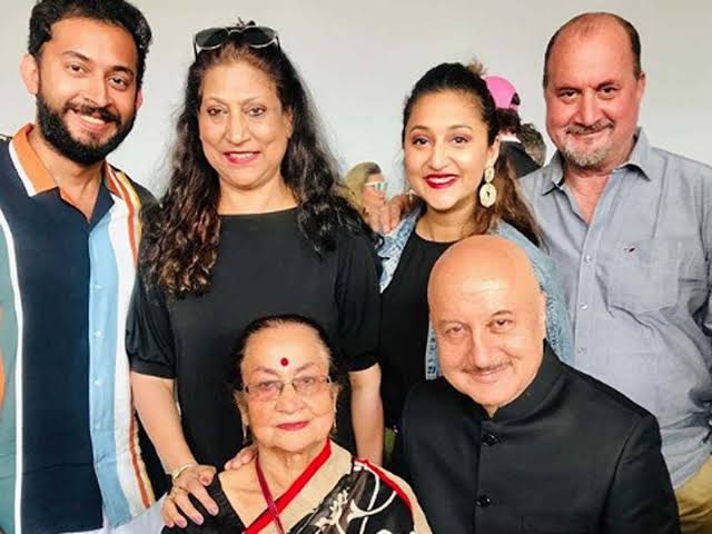 Anupam Kher's Family Has Been Tested Coronavirus Positive, The Actor Remains Negative