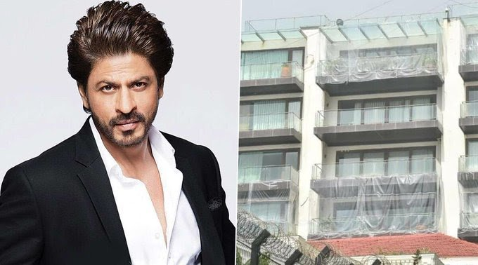 The Truth Behind Shah Rukh Khan's Mannat Covered With Plastic Sheets Is Here