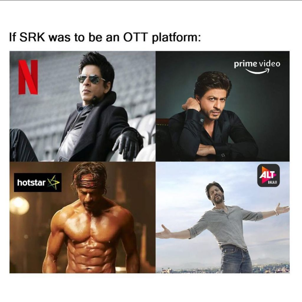 Ekta Kapoor Shared Shah Rukh Khan's Four Avatars With A Caption 'If SRK was to be on an OTT platform'