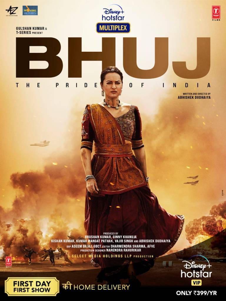 The First Look Of Sonakshi Sinha As Sunderben Jetha Madharparya From Bhuj: The Pride Of India Is Out