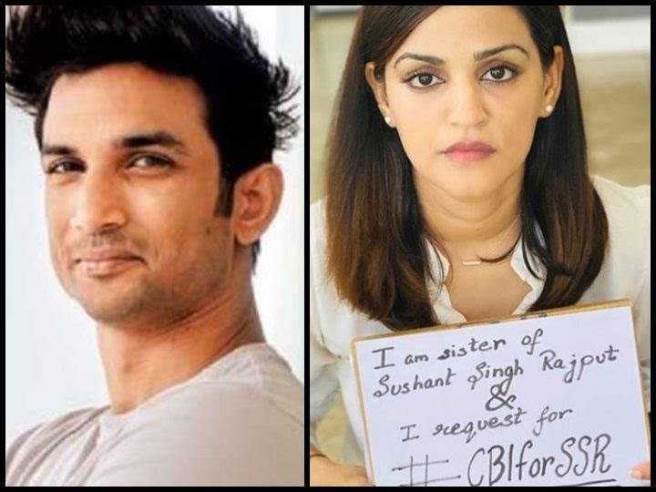 Sushant Singh Rajput's Sister Shweta Singh Urges For A CBI Probe, Shares A Video