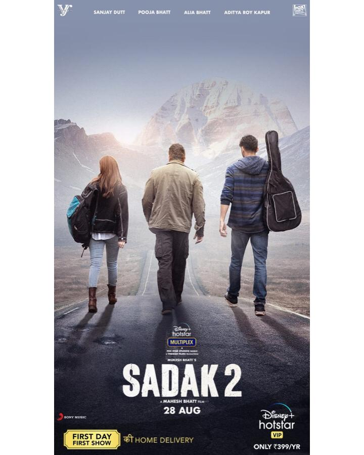 Sadak 2: Mahesh Bhatt's Multistarrer To Premiere On August 28 On Disney Plus Hotstar, New Poster Out!