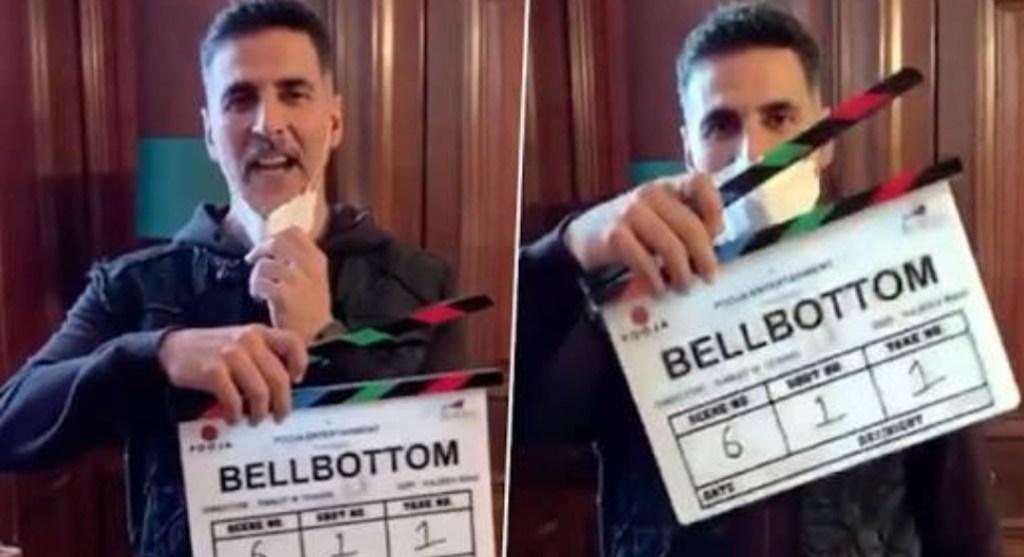 """Bell Bottom: It's """"Lights, Camera, Mask On & Action"""" Time For Akshay Kumar & Team"""