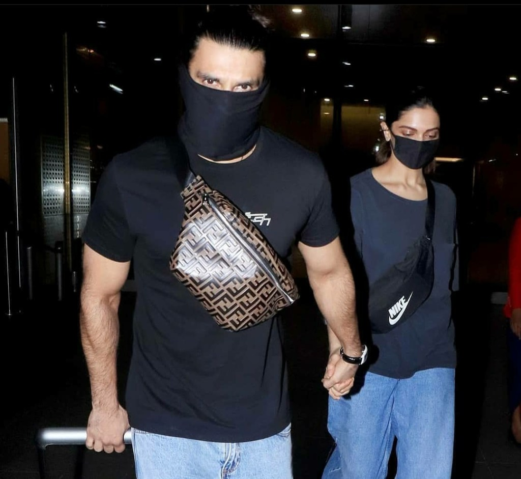 Deepika Padukone Returns With Husband Ranveer Singh From Bangalore Before Resuming Shoot For Her Next