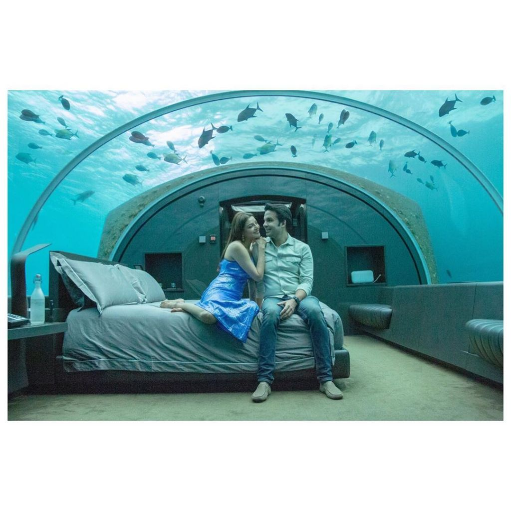 Kajal Aggarwal & Gautam Kitchlu's Honeymoon Pictures Will Make You Go Aww!